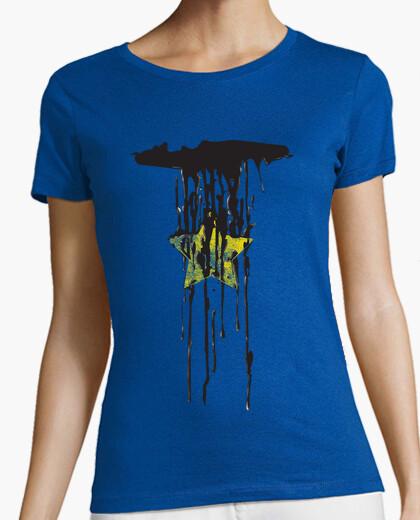 T-shirt cadente star ragazza