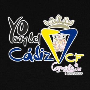 Camisetas CADIZ CF YO SOY DEL CADIZ relieve by Ca