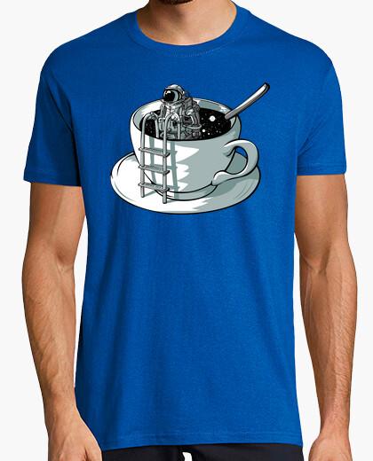 Camiseta café espacial