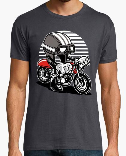 Camiseta Caferacer Helmet