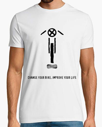 Tee-shirt caferacer n ° 1 de mcr lettres