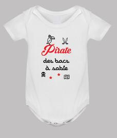 cajas de arena piratas / bebé