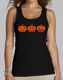 calabaza de halloween caras
