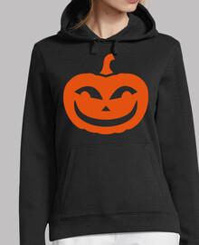 calabaza de halloween sonriente