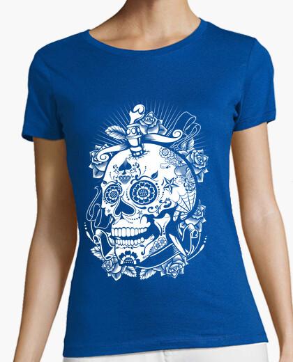 Camiseta Calavera 244028