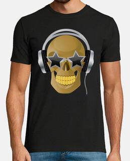 Calavera auriculares Terror humor