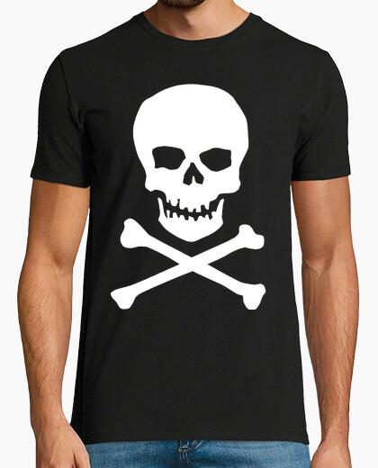Camiseta Calavera clásica, blanca