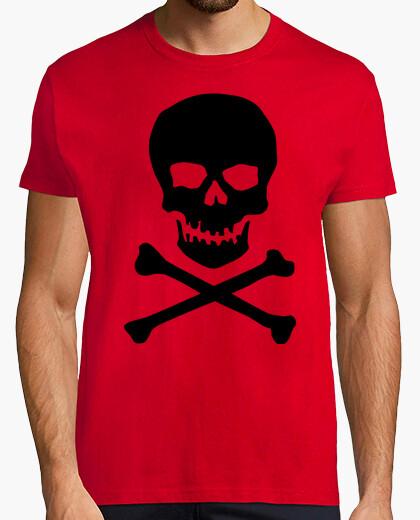 Camiseta Calavera clásica, negra