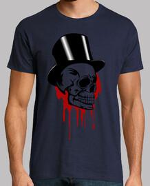 Calavera con sombrero Terror humor