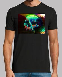 Calavera Grafiti - Camiseta Hombre