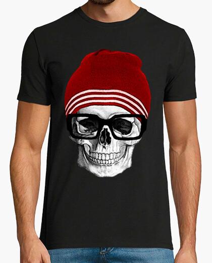 Camiseta CALAVERA HIPSTER .Cooltee solo disponible en latostadora