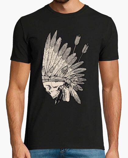 Camiseta Calavera india