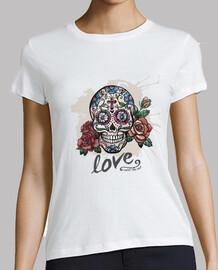 Calavera mexicana - Love until the end
