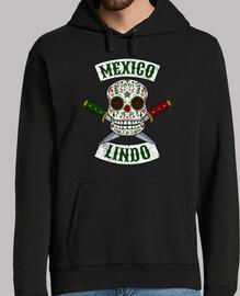 Calavera mexicana con puñales México Li