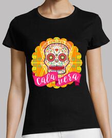 Calavera mexicana del Día de los Muertos