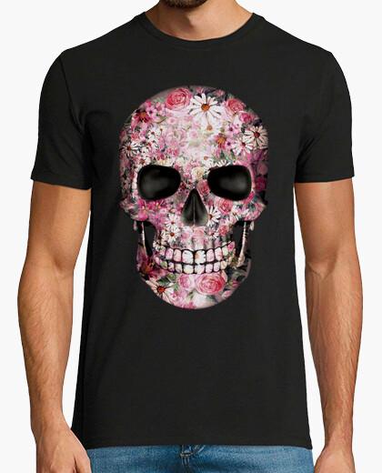 Camiseta Calavera Mexicana Flores / Catrina / Ka