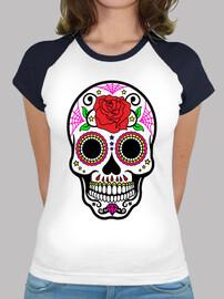 calavera mexicana mi flor