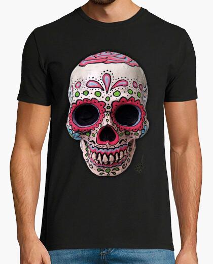 Camiseta Calavera Mexicana Real !!!