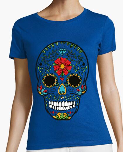 Camiseta Calavera Mexicana Sin fondo / Catrina