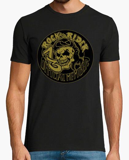Camiseta Calavera Official Member 13 Rock And Rider®