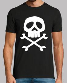 Calavera pirata (Capitán Harlock)