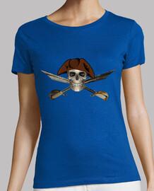 Calavera Pirata con Espadas