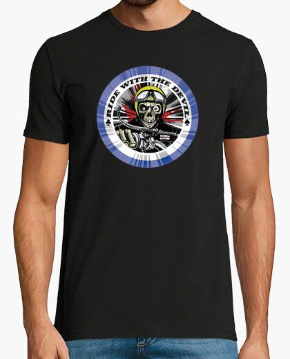 Camiseta calavera ride devil