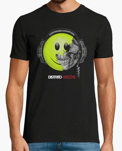 Camiseta Calavera Smiley5