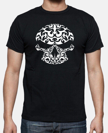 Camisetas Calavera tribal