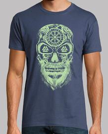 Calavera Vikingos Verde