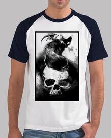 Calavera y gato diabólico