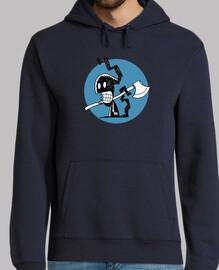 calaverita01-jersey con cappuccio uomo