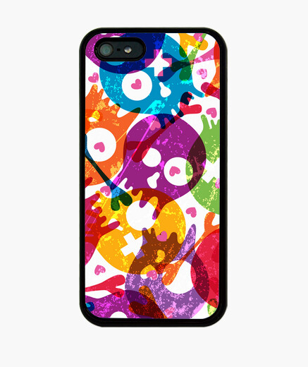 Funda iphone calaveritas n 265139 fundas iphone latostadora - Personalizar funda iphone ...