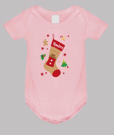 Calcetín de Navidad - Personaliza el nombre
