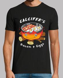 calcifers tocino y huevos camisa mens