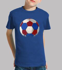 calcio blu rosso e bianco