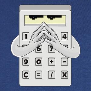 Camisetas Calculador