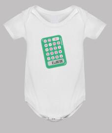 Calculadora El bebé - Body recién nacido