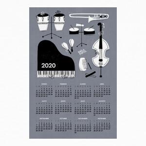 T-shirt Calendario 2020 Instrumentos