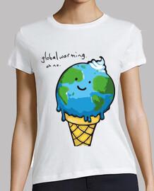 Calentamiento global - Tierra helado