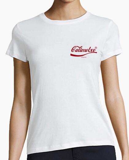 Camiseta Calimotxo classic red logo