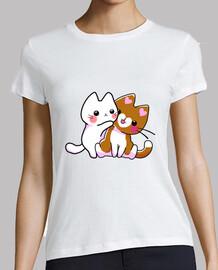 câlin de chatons