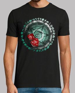 call of cthulhu camiseta schwarz