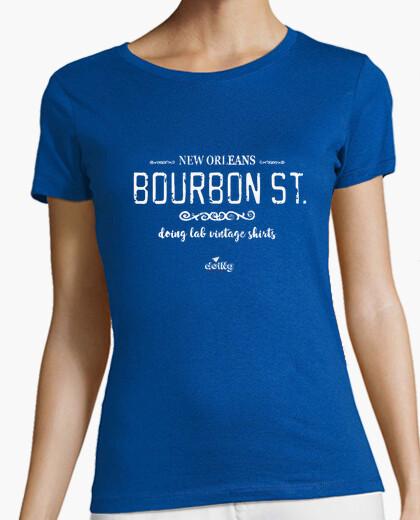 Camiseta calle de la vendimia bourbon
