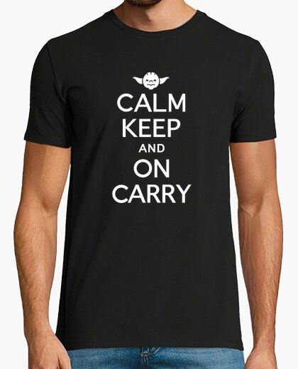 af622e70cd Calm Keep and ON Carry Yoda T-shirt - 769023 | Tostadora.com