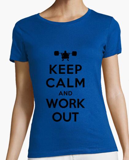 T-shirt calma e allenati