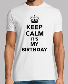 cálmate, es mi cumpleaños