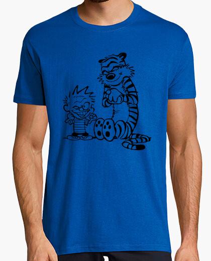 Tee-shirt calvin and hobbes