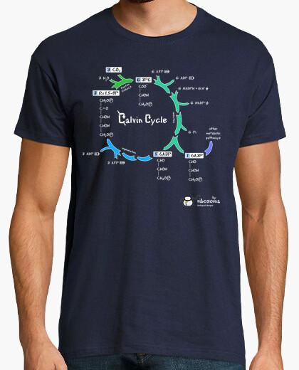 T-shirt calvin cycle (sfondi scuri)