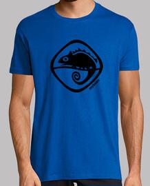 Camaleon - Hombre, manga corta, azul royal, calidad extra